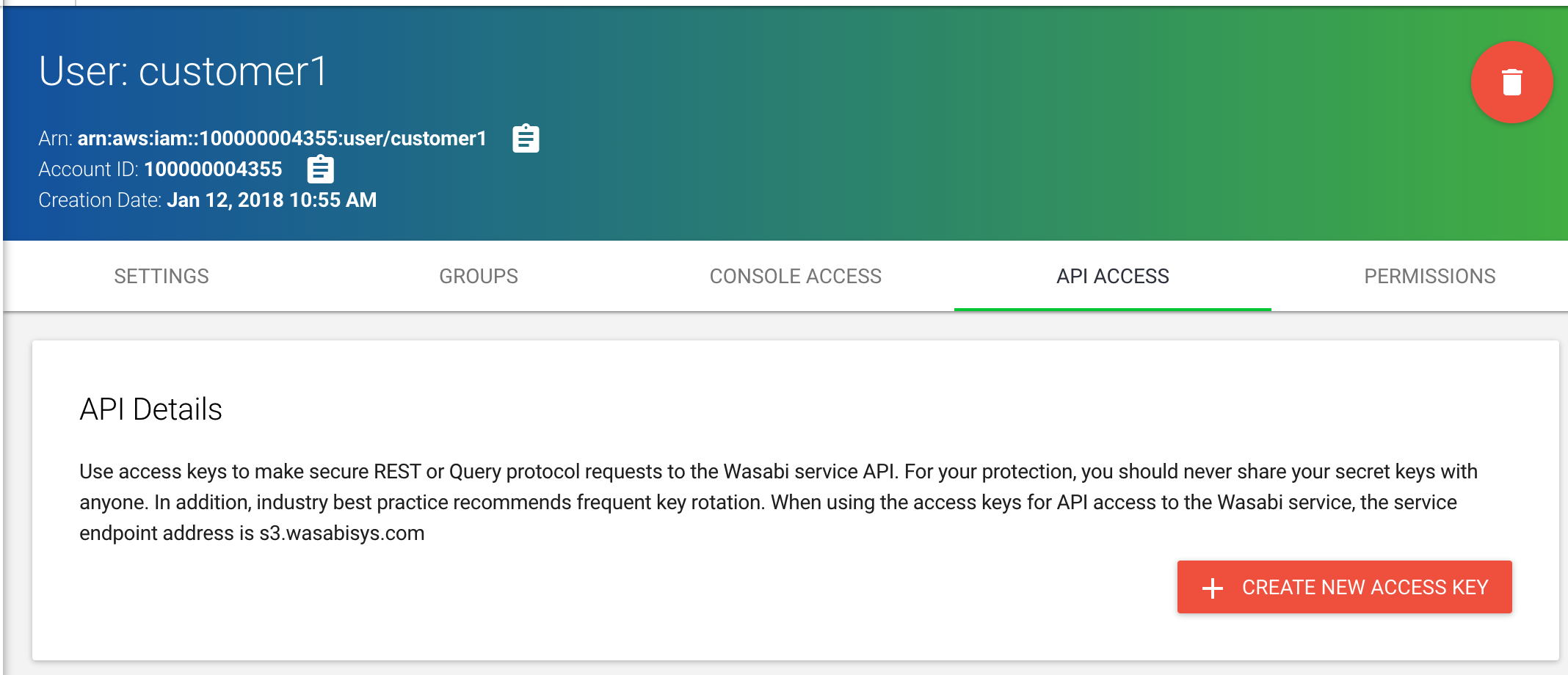 How do I set up Wasabi for user access separation? – Wasabi
