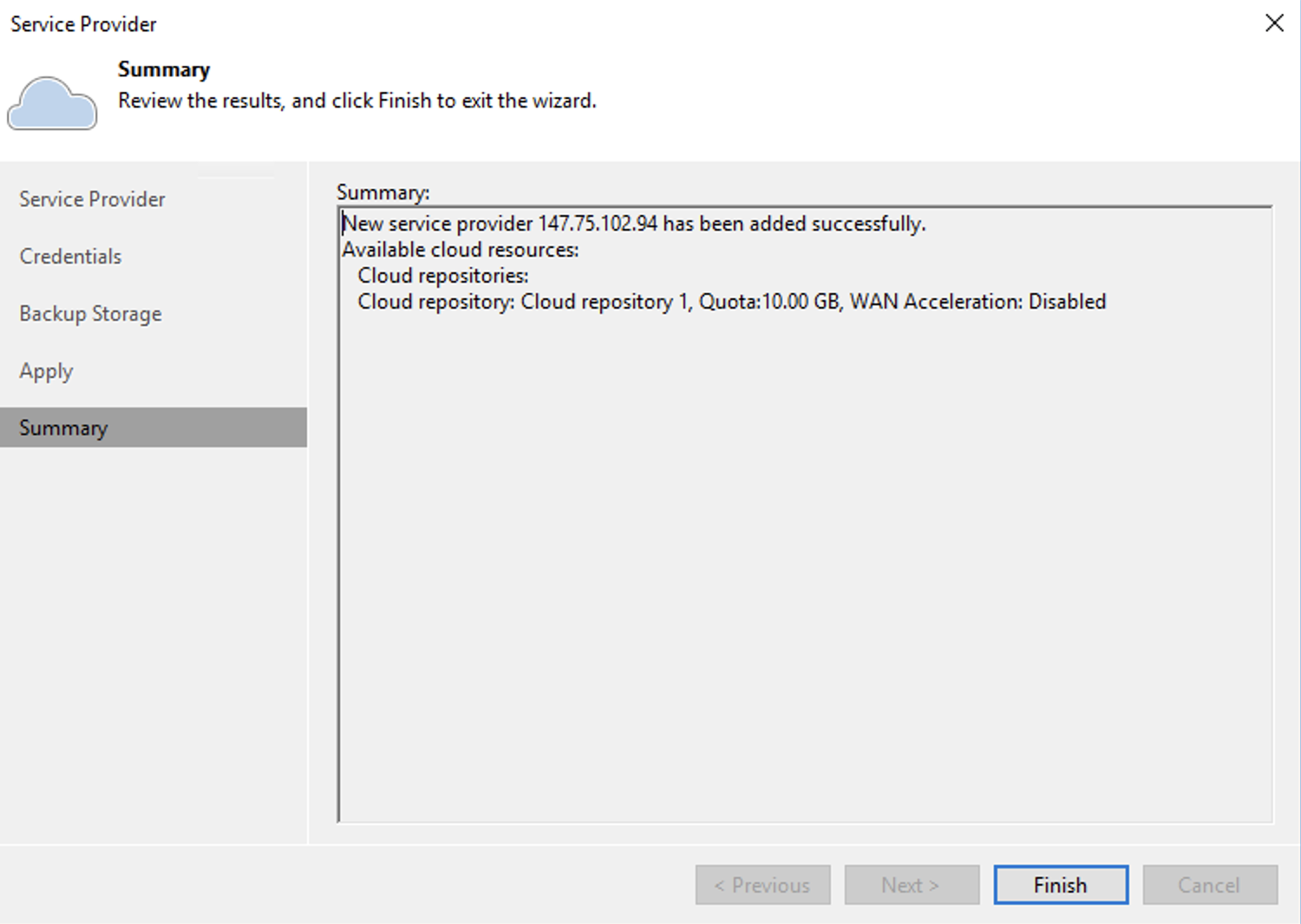 How do I use Veeam Cloud Connect with Wasabi? – Wasabi
