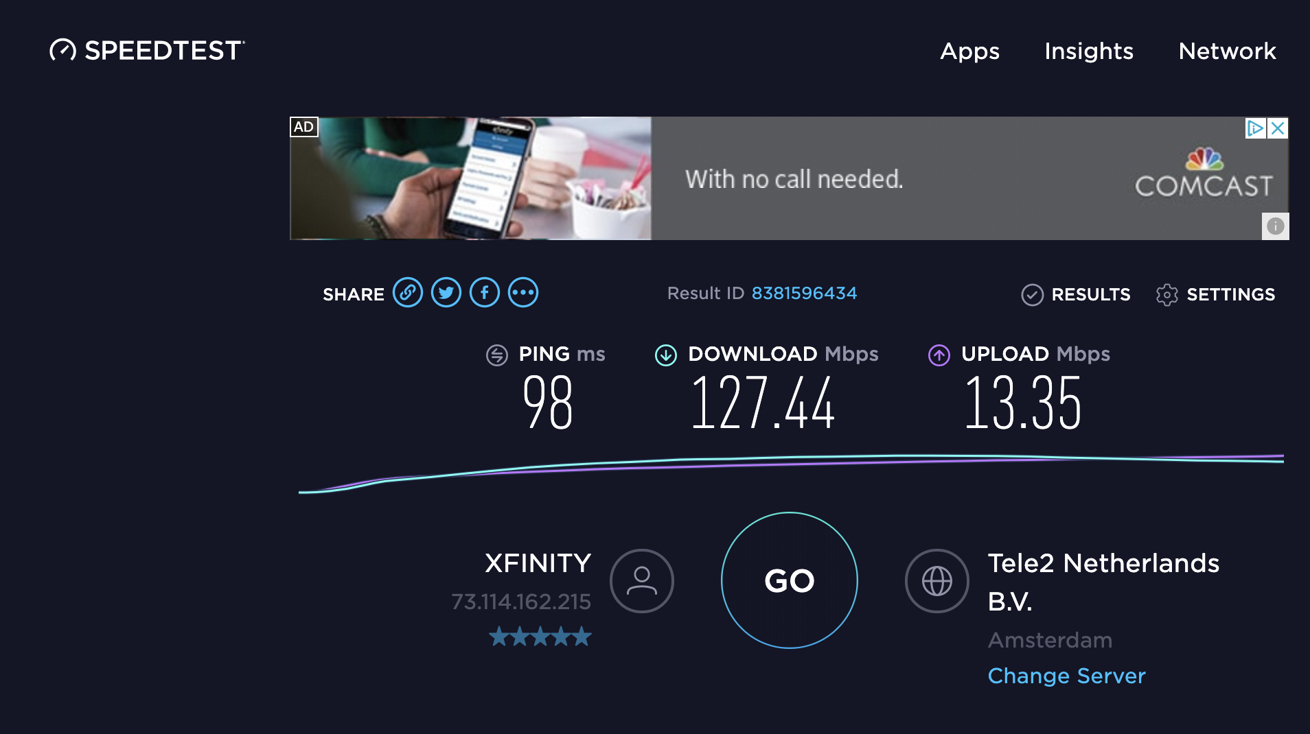 I am not seeing the network performance I'm expecting - what should
